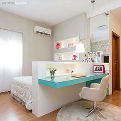 Amazing Teen Girl Bedroom Decor Ideas - Home and Garden Decoration Bedroom Decor For Teen Girls, Teen Girl Bedrooms, Childrens Bedroom, Master Bedrooms, Room Decor Diy For Teens, Modern Teen Bedrooms, Girl Rooms, Bedroom Modern, Home Bedroom