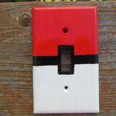 Pokémon Pokéball Light Switch Cover