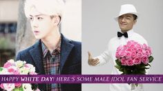 Happy White Day! Here's some male idol fan service | http://www.allkpop.com/article/2015/03/happy-white-day-heres-some-male-idol-fan-service