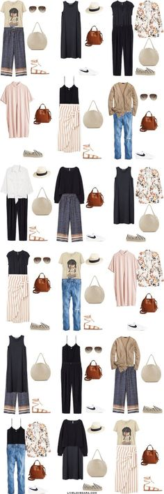 If you are wondering what to pack for Italy in the summer time for 10 days, you can see some ideas here. What to Pack for Italy Packing Light List Outfit Options | What to pack for Salerno l | What to Pack for Amalfi Coast | Packing Light | Packing List | Travel Light | Travel Wardrobe | Travel Capsule | Capsule |