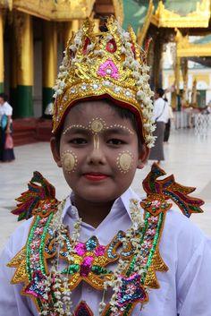 ˚Shwedagon Pagoda, Yangon, Myanmar