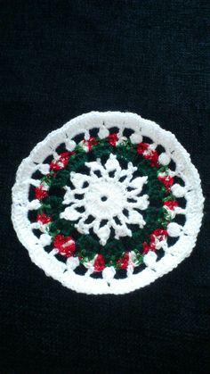 Christmas stuff. :) Christmas Stuff, Christmas Tree, Tree Skirts, Holiday Decor, Crochet, Inspiration, Home Decor, Christmas Things, Teal Christmas Tree