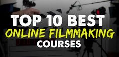I am a HUGE consumer of online courses of all types. I've put together a list of some of the best Filmmaking Courses Online I've personally taken...