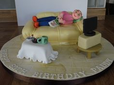 Sofa cake.