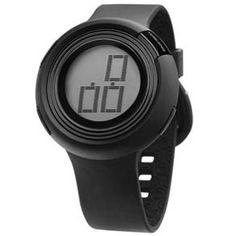 Relógio Feminino Digital Mormaii M09718P - Preto