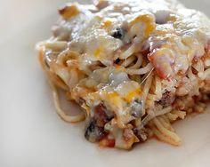 Katie's Favorites: Baked Spaghetti