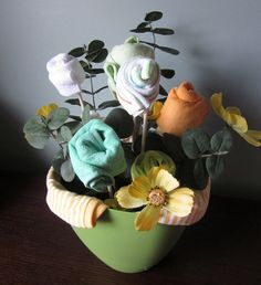 Items Similar To Welcome Home Baby Gift Baby Shower Centerpiece Baby Bouquet On Etsy