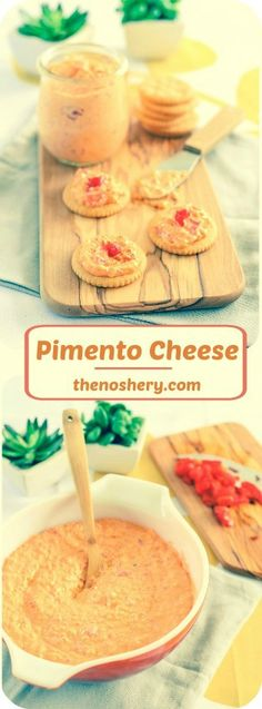 Pimento Cheese |Vintage Recipes | TheNoshery.com - @TheNoshery #MadMenBloggerParty