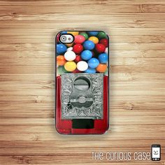 This shop has really cute cases! iPhone Case Candy Gumball Machine  / Hard Case For iPhone 4 and iPhone 4S Kawaii Candy Goodies. $17.99, via Etsy.
