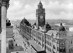 """""""Queen City of the South"""" - Melbourne Queer History Radio Series Melbourne Suburbs, Melbourne Cbd, Melbourne Victoria, Melbourne Australia, Australian Vintage, Vintage Architecture, Cities In Europe, Famous Places, City Buildings"""