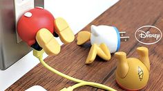 Disney USB chargers // Mickey Mouse // Donald Duck // Winnie the Pooh