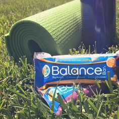 Celebrate the sunshine and take your yoga outdoors. Remember to toss a Balance Bar in your bag to refuel!