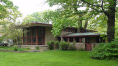 Frank Lloyd Wright River Forest, Isabel Roberts House 2