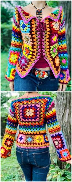 Trendy Crocheted tops this winter Idea Trendy Crocheted tops this winter Idea Learn the rudiments of Crochet Bolero, Crochet Tunic Pattern, Crochet Shirt, Crochet Jacket, Crochet Cardigan, Top Pattern, Crochet Patterns, Crochet Ideas, Quick Crochet
