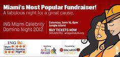Miami's Most Popular Charity Event.   Art by Carlos A. Navarro