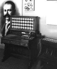Herman Hollerit, creador de las tarjetas perforadas
