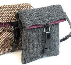 vintage harris tweed bags