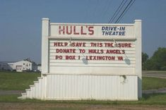 Hull's Drive in, Lexington Virginia