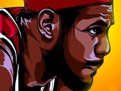 LeBron James Art