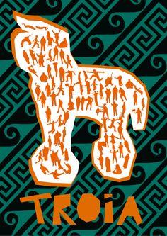 Poster filme troia
