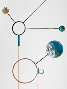 """Sculpture collection """"Weathered"""" by the Norwegian design duo Jørgen Platou Willumsen and Stian Korntvedt Ruud, from Kneip Studio."""