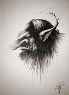 Trollhead...another one, by Samuli Ponsimaa a.k.a Skrymer