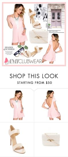 """""""AMICLUBWEAR 15/II"""" by damira-dlxv ❤ liked on Polyvore featuring amiclubwear"""