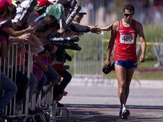 Yerko Araya, atletismo (20 km marcha)