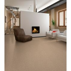 Beautiful, organized and modern. Resista Refresh carpet available at carpetone.com