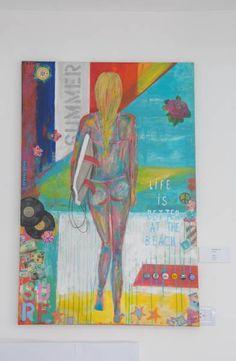 Estilo Pilar Night, Artwork, Painting, Landscaping, Exhibitions, Style, Art, Work Of Art, Auguste Rodin Artwork