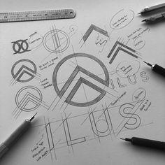 www.baby-giant.co.uk Graphic Design Tips, Graphic Design Posters, Graphic Design Inspiration, Logo Branding, Branding Design, Logo Sketches, Learning Logo, Marketing Logo, Logo Creation
