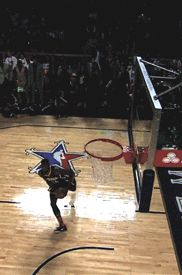 Paul George Slam dunk between legs nba indiana pacers paul george sg slam dunk competition between the legs dunk pg24