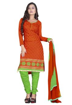 If you are an ardent fan of quality & style, this marvelous turquoise colored salwar suit is perfect attire