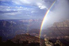 Grand Canyon Rainbow, Brian Morganti
