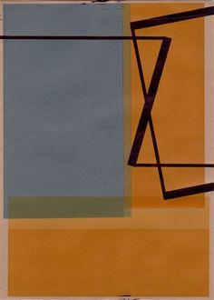 RICHARD CALDICOTT : Drawings : Envelope Drawings 2012