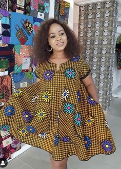 Trendy ankara dresses to slay for the weekend Short African Dresses, Ankara Short Gown Styles, African Blouses, African Print Dresses, African Fashion Ankara, Latest African Fashion Dresses, African Print Fashion, Africa Fashion, Ankara Dress
