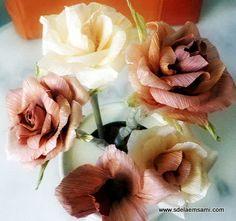 Розы из талаша | Страна Мастеров
