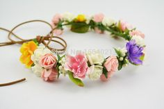 Find More Decorative Flowers & Wreaths Information about Free shipping children girl small hair crown Festival Headband Headwear Wedding Garland Floral Hairband 5pcs/lot,High Quality lot perfume,China lots money Suppliers, Cheap lots to love baby doll from YUGUO INDUSTRY AND TRADE LIMITED on Aliexpress.com