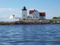 Hendrick's Head Lighthouse in West Southport, Maine by davensuze, via Flickr