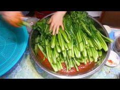 Korean Food, Food Design, Kimchi, Food Plating, No Cook Meals, Celery, Asian Recipes, Asparagus, Vegetables