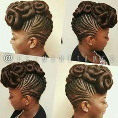 New hair updos ponytail hairdos ideas African Braids Hairstyles, Trendy Hairstyles, Braided Hairstyles, Hairdos, Black Hairstyles, Braided Updo, Hairstyle Short, Braided Rugs, Beautiful Hairstyles
