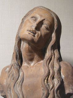 Saint Mary Magdalen by Giovanni Francesco Rustici Florence Italy 16th century CE Terracotta