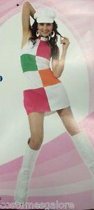 Details about Ladies Costume Fancy Dress Up HT Costume Gogo Dancer Sz… Go Go Dancer Costume, Dance Costumes, 70s Costume, Hippie Costume, 70s Outfits, Dance Outfits, Decade Day, Fancy Dress Up, Sixties Fashion