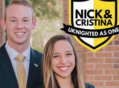 Nick Larkins and Cristina Barreto are two proud UCF Knights who have recently announced their candidacy for Student Body President and Vi