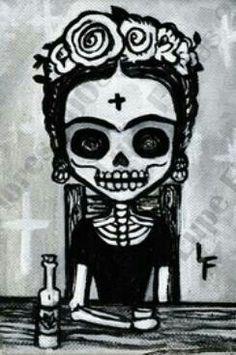 Dia de los muertos Frida