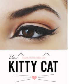 Mia Di Domenico Fashion blogger & photographer from Becoming Trendy - DIY Tutorial HOW TO APPLY EYELINER