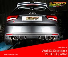 Ragazzon Exhaust System: Audi S1 Sportback 2.0TFSI Quattro | #Tuning #TuningCar #Audi