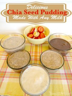 Chia Seed Pudding & Blendtec Giveaway