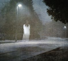 ghost image- doubt its real but it reminds me of the ghost stories about picking up a teenage girl in a prom dress, she wants you to take her home, you get there and she is gone and her mother says shes been dead for 10 years etc. Ghost Images, Ghost Pictures, Ghost Pics, Creepy Ghost, Scary, Verona, Spirit Ghost, Ghost Sightings, Creepy Photos