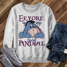Disney Posters, Disney Quotes, Eyore Tattoo, Happy Day Quotes, Eeyore Quotes, Disney Sidekicks, Winnie The Pooh Pictures, Sarcastic Shirts, Pooh Bear